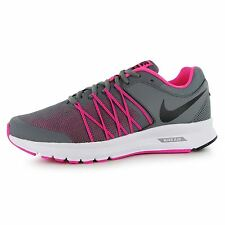 Nike Air Relentless 6 Running Shoes Womens Grey/Black/Pink Run Trainers Sneakers