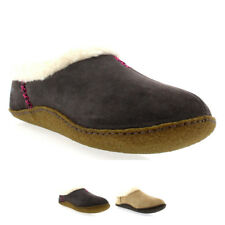 Womens Sorel Nakiska Winter Fur Lined Warm Suede House Shoes Slippers UK 3-9