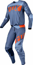 Fox Racing Mens Orange/Blue Flexair Libra Dirt Bike Jersey & Pants Kit Combo