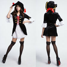 Halloween Sexy Dress Series Pirate Witch Women Lady Fancy Cosplay Costume Party