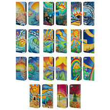 OFFICIAL DREW BROPHY SURF ART LEATHER BOOK WALLET CASE FOR APPLE iPOD TOUCH MP3