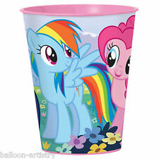 6 My Little Pony Charm Children's Birthday Party Plastic Loot Favour Cups