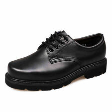 MENS WORK/SAFETY SHOES DURABLE LEATHER BOOTS BUSINESS OCCUPATIONAL LEATHER SHOES
