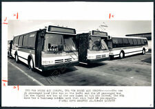 BS Photo BDV-837 Mass Transit Administration Bus 1987