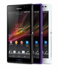Original SONY Xperia HSPA+ C2305 smart phone Factory Unlocked 4GB 8MP Quad core