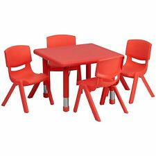 Preschool Table & Chairs   FREE SHiPPiNG   Daycare Toddler Kids Childrens