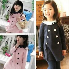 Children Girls Kids Dress Top Skirt Dress Long Sleeve 2-7 Y Baby Party Clothes