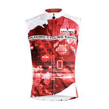 Men Cycling Clothing Vest Sleeveless Jersey Quick Dry Breathable Pockets PW672