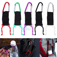 Carabiner Water Bottle Buckle Hook Holder Lock Clip For Camping Hiking Traveling