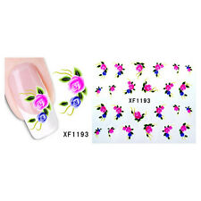 Best Nail Art Decals Transfers Stickers Water Transfer Stickers Flower Decals