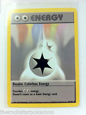 POKEMON TCG~DOUBLE COLORLESS ENERGY #96/102 BASE SET UNLIMITED~MINT!!