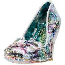 Irregular Choice Nick Of Time Womens Shoes Floral New Shoes