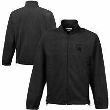 Columbia Michigan State Spartans Charcoal Flanker II Jacket