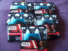 PRIMARK STAR WARS 2 PACK MENS HIPSTERS BOXER TUNKS SIZE SM/MED/LGE/XL/XXL BNIP