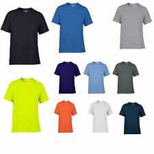 Gildan Performance Mens Kids New Casual Wickable Top Breathable Training Tshirt