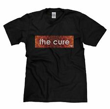 Mens The Cure 80s Classic Rock Retro Music Tribute Band T-shirt