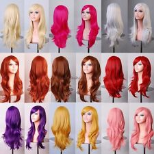Sexy Ladies Wig Long Layer Full Head Wigs Cosplay Party Daily Fancy Dress Thick