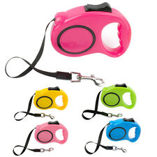 Didog Cheap Retractable Dog Leash Extendable Auto Puppy Pet Cat Leads Pink Blue
