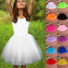Baby Girls Sweet Ballet Tutu Princess Dress-Up Dance Wear Costume Party Skirt