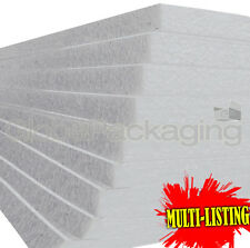 EXPANDED POLYSTYRENE EPS70 FOAM PACKING INSULATION SHEETS *ALL SIZES / QTY'S*