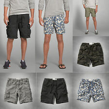NEW Abercrombie & Fitch Mens A&F Cargo Jogger Shorts NWT