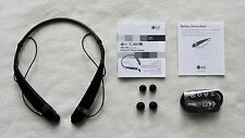 LG Tone Pro (Model HBS-760) Wireless Bluetooth Neckband Headsets - Black & Blue