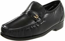 Florsheim RIVA Mens Black Leather Slip On Loafers Business Dress Formal Shoes