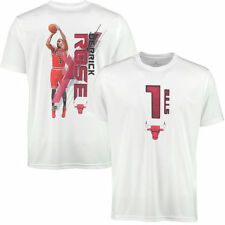 Levelwear Derrick Rose Chicago Bulls White Fade Away T-Shirt