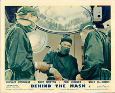 Behind The Mask Michael Redgrave Surgery Lobby Card