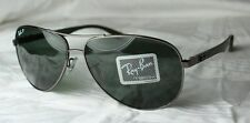 RAY-BAN SUNGLASSES CARBON TECH RB 8313 004/N5 Size 58 + 61 NEW Polarized