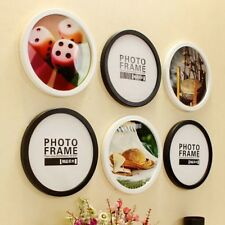 New Photo Frame Modern Round Wall Mounted Picture Frame Living Room Ornaments