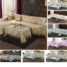 Super Soft Thick Chenille Fabirc Couch Sofa Cover Protector Fit For 1 2 3 Seater