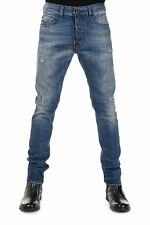 DIESEL Man Coated Stretch Denim TEPPHAR Jeans New with Tags and Original