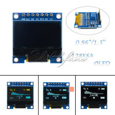 "0.96""/1.3'' SPI Serial /128X64 OLED LCD Display Screen Module Arduino UNO R3"