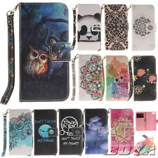 Cell phone New PU leather wallet case flip carrying folios stand protective skin