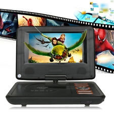 "Muti-color Build-in Battery 7"" Portable DVD Player Widescreen Unlocked TV 0utput"
