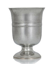 ONE PINT TUDOR PEWTER GOBLET A E Williams British Made Replica Ale Wine Cup NEW