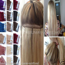 """Fashion PU Skin Weft 16""""-22"""" Virgin Tape in Human Hair Extension Remy Hair TOP"""