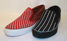 Converse Unisex Skidgrip Trainers - Red/White and Black/white