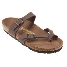 Women's Birkenstock Mayari Brown Mocha Birkibuc Regular