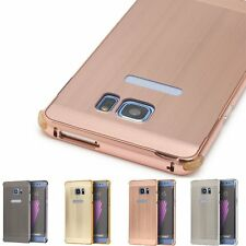Luxury Brushed Aluminum Metal Chrome Hard Case Cover For Samsung Galaxy Note 7