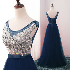 New Long Chiffon Bridesmaid Formal Ball Gown Party Cocktail Evening Prom Dress