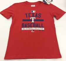 Majestic Kids Authentic On-Field Team Property T-Shirt Texas Rangers