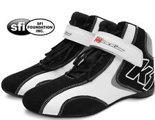K1 - Champ Pro SFI-5 Auto Racing Shoes - SFI Rated Nomex / Leather Race Shoes