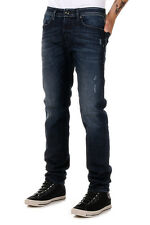 DIESEL New Men Blue Jeans Cotton Slim BELTHER Pants Denim Stretch NWT