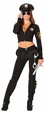 Miss Law and Order Police Costume Cop Costume Police Woman Outfit Roma 4501