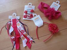 NWT GIRLS GYMBOREE BLOOMING NAUTICAL HEADBAND, HAIR CLIPS, U PICK!!