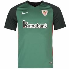Nike Athletic Bilbao Away Jersey 2016 2017 Mens Green/White Football Soccer Top
