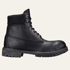Timberland 6-INCH PREMIUM TB010054 Mens Black Smooth Waterproof Boots