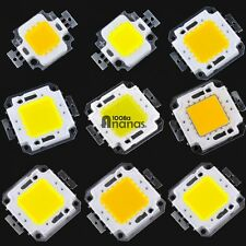 1/5/10pcs10W 20W 30W 50W 100W High Power Pure/Warm White LED Lamp SMD Chip AN18